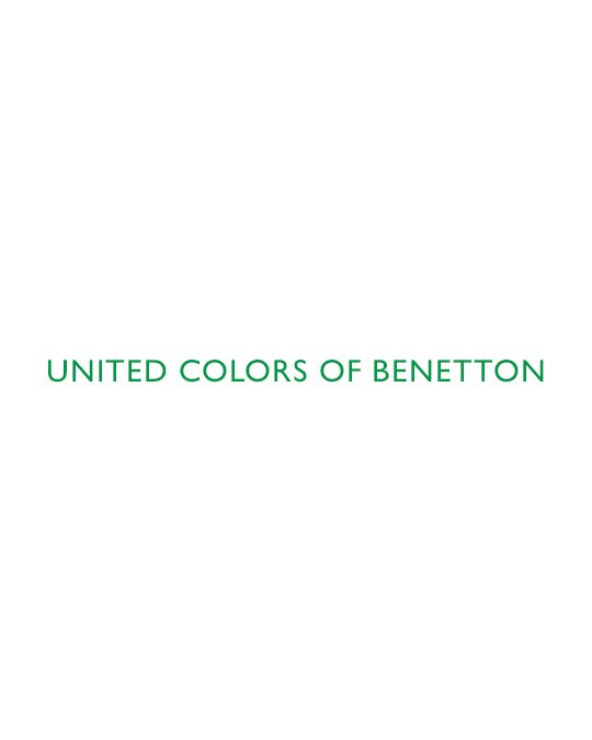 Benetton Logo Desenli Polo T-shirt